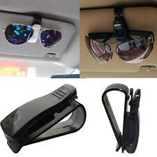Universal Car Auto Sun Visor Glasses Sunglasses Card Ticket Holder Clip Black