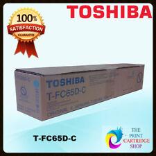 Genuine Toshiba T-fc65d-c Cyan Toner Cartridge E-studio 5540c 6540 6550c