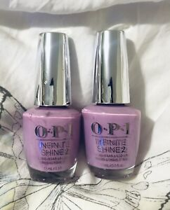 OPI Infinite Shine Lavendare to Find Courage - .5 Oz / 15 mL - HRK22 Pack Of 2