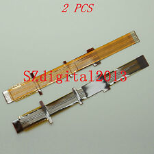 2PCS/ Viewfinder Eyepiece LCD Flex Cable For Sony HDR-FX1000E DCR-VX2200E