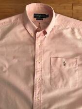 Ralph Lauren pink,mens,long sleeve shirt,size - XL