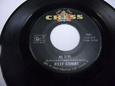 """Billy Stewart No Girl / How Nice It Is 7"""" 45 rpm Chess VG+"""
