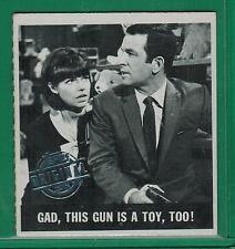 TOPPS ORIGINAL 1966 GET SMART #15 THIS GUN IS A TOY TOO
