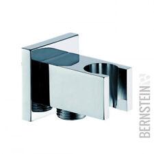 Wandanschlussbogen mit Brausehalter BA002 quadratisches Design