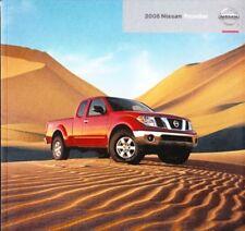 2008 08 Nissan Frontier  original sales brochure