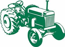 Farm Tractor Agriculture Vehicle Car Truck Window Laptop Vinyl Decal Sticker