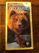 National Geographic Video Vhs The Grizzlies