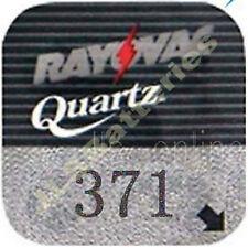 371 Rayovac Silver Oxide Watch Battery SR920SW AG6 V371