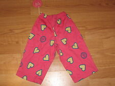 Life is Good Toddlers Lounge Pants Hearts HIB size XXS 2T/3T New with Tags
