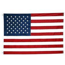 2x3 USA American Flag Nylon Heavy Duty Embroidered Stars Sewn Stripes Grommets