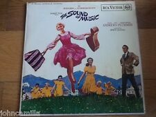 """VARIOUS - THE SOUND OF MUSIC (AN ORIGINAL SOUNDTRACK RECORDING) 12"""" LP - RB-6616"""