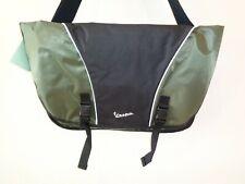 Vespa Style VP105319 Olive Nylon New Bike Messenger Bag Laptop Shoulder