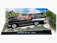 wonderful modelcar  CHEVROLET BELAIR CONVERTIBLE 1957  007 - black  -  1/43