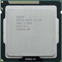Intel Core i3-2120 SR05Y Quad Core 3.3GHz 3MB LGA1155 Socket H2 CPU Processor