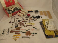 HO Scale Train Lot Accessories People Truck Trailers Power Line Poles & More