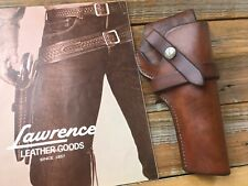 """Vintage George Lawrence 1C 609 Brown Leather Holster For Savage No. 101 4 1/4"""""""