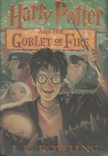 Harry Potter and the Goblet of Fire by J. K. Rowling (2000, HardcoverDJ~Mint~1)