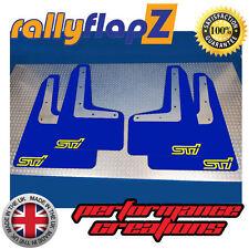 Rallyflapz SUBARU IMPREZA 2015 Modelo Guardafangos Azul STI (pequeño) AMARILLO