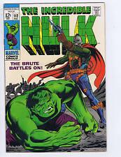 Incredible Hulk #112 Marvel 1969