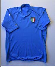 4.7/5 ITALY ITALIA 2000-2002 KAPPA FOOTBALL HOME SHIRT JERSEY SOCCER SIZE 2XL