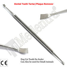 Medentra Pet Grooming Dual Tooth Descaler Tartar Remover Calculus Plaque Dog Cat