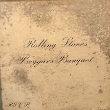 "THE ROLLING STONES ""Beggars Banquet"" Vinyl LP - 1968 London PS-539 VG / VG"