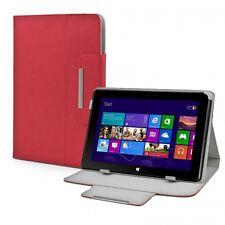 Schutz Tasche für MSI S100 Tablet-PC Hülle Case Aufsteller Cover Leder-Optik Rot