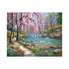 Scenery Diy Paint By Number Kit Digital Oil Painting Canvas Art Wall Home-Decor