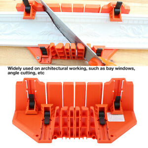 Manual Mitre Box Angle Saw Guide Cutter Clamping Hand Woodwork Saw Angle Cutter