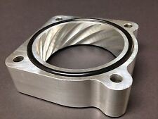 SILVER THROTTLE BODY SPACER for 2002 to 2006 NISSAN SENTRA SE-R SPEC V 2.5L