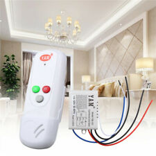 Wireless 1 Way ON/OFF Digital Remote Control Switch Single Pole For All Lights