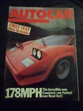 Autocar - w/e 29 May 1985 - Lamborghini Countach