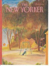 COVER ONLY ~The New Yorker magazine ~ Sempe Sempé ~ September 9 1985 ~ Man Swing