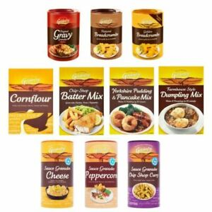 Store Cupboard Essentials Food Sauce Packet Mix Granules Goldenfry (Pack of 2)