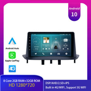"""9"""" Android 10.0 Car Stereo Radio for Renault Megane 3 2009-2014 GPS NAV DSP IPS"""