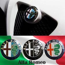 2 X NUOVO LOGO FREGIO STEMMA ANTERIORE + POSTERIORE ALFA ROMEO 147 156 GT