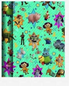 BUY 2 GET 1 FREE TOY STORY HALLMARK WRAPPING PAPER ROLL 2M