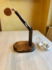 LAMPADA IN LEGNO - fatta a mano - portalampada e27 -