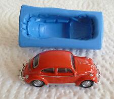 3D VW Beetle de Silicona Molde para Cake Toppers Chocolate Arcilla Etc