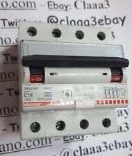 BTICINO C16 G8843/16A BTDIN60 INTERRUTTORE DIFFERENZIALE PURO SALVAVITA 4 P
