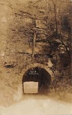 Bethany West Virginia~Rock Tunnel~THE Tunnel I Came Through~1908 Real Photo~RPPC