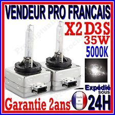 2 AMPOULES D3S BI XENON 35W KIT HID LAMPE DE RECHANGE D ORIGINE FEU PHARE 5000K