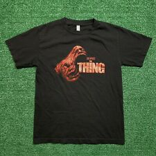 John Carpenters The Thing T Shirt Horror Movie Face Graphic Red Black Size Small