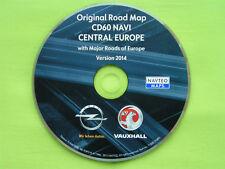 NAVIGATION OPEL CD 60 NAVI CD 80 NAVI ALPEN + EU 2014 CD60 CD80 ANTARA CORSA D