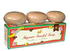 Mysore Sandal Soap with Natural Sandalwood Oil 150g x 3 - Gift Pack