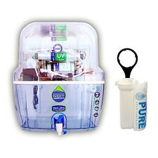 Aqua Ultra A1021 14Stage Ro+UV+Uf+Mi+Tds water purifier With Free 3Spun filter