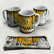 Retro Single Renault Motor Vintage Mechanic Gift Garage Tea Coffee Mug Cup