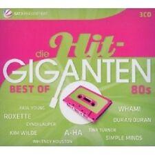 DIE HIT GIGANTEN-BEST OF 80'S 3 CD SIMPLE MINDS UVM NEU