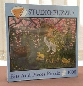 Studio Puzzle A Mother's Love 1000 piece Bits and Pieces Jigsaw Sealed Ducks