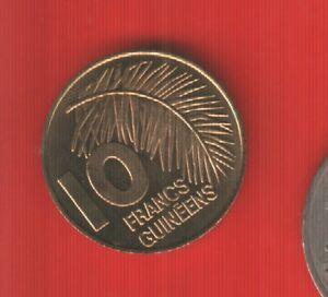 GUINEE 10 FRANCS 1985